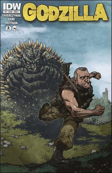 Godzilla (2012) 3-A by IDW