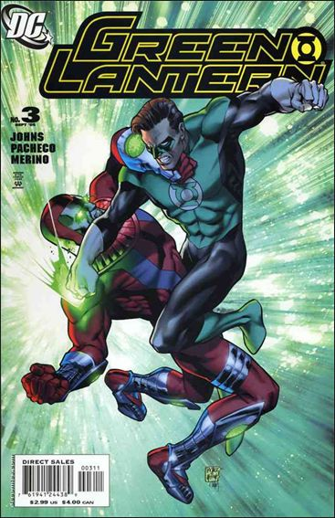 Green Lantern (2005) 3-A by DC