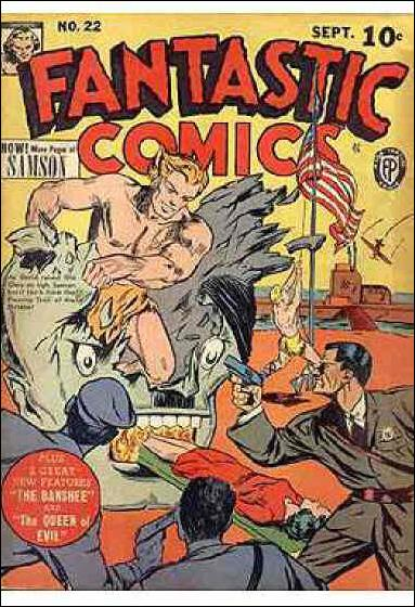 Fantastic Comics (1939) 22-A by Fox