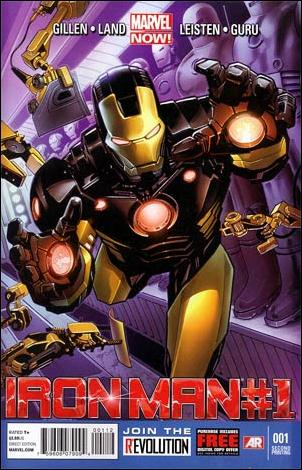 Iron Man (2013) 1-I by Marvel