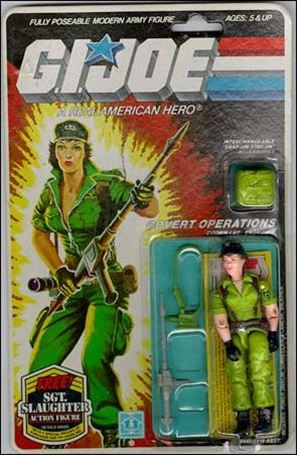 "G.I. Joe: A Real American Hero 3 3/4"" Basic Action Figures Lady Jaye (Covert Operations)"