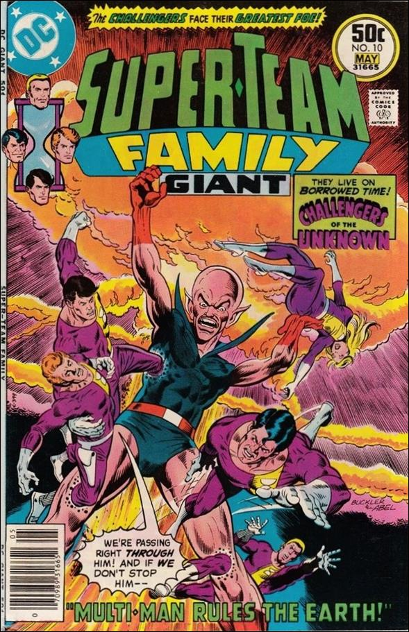 Super-Team Family 10-A by DC