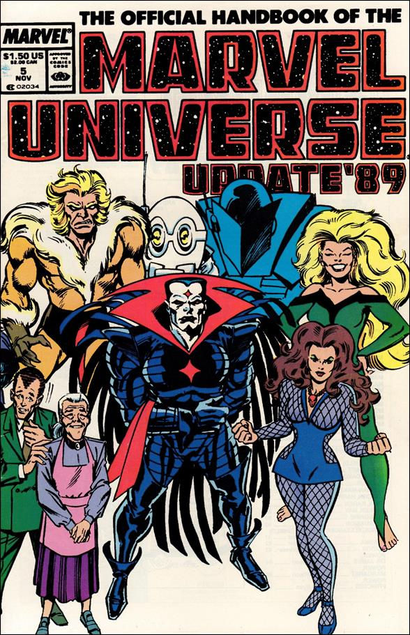 Official Handbook of the Marvel Universe (1989) 5-A by Marvel