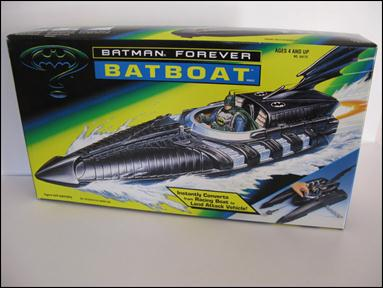 Batman Forever (Vehicles) Batboat by Kenner