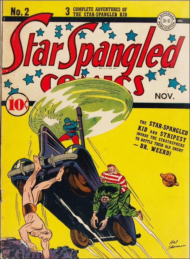 Star Spangled Comics (1941) 2-A by DC