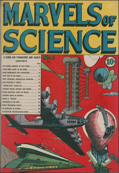 Marvels of Science 1-A by Charlton