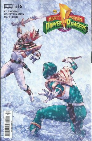 Mighty Morphin Power Rangers 16-A
