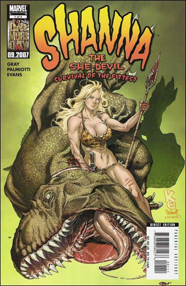 Shanna the She Devil: Survival of the Fittest 1-A by Marvel