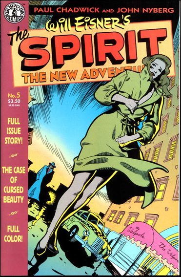 Spirit: The New Adventures 5-A by Kitchen Sink