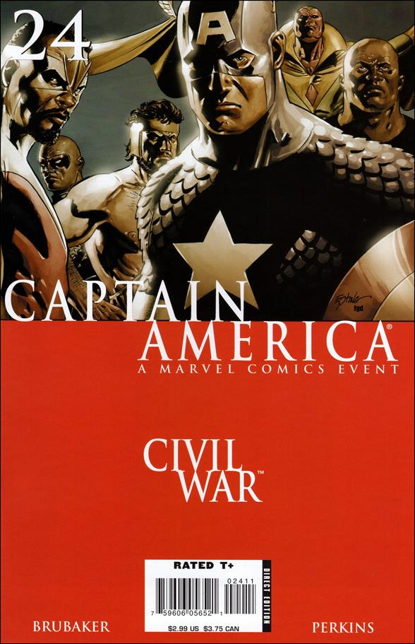 Captain America (2005) 24-A by Marvel