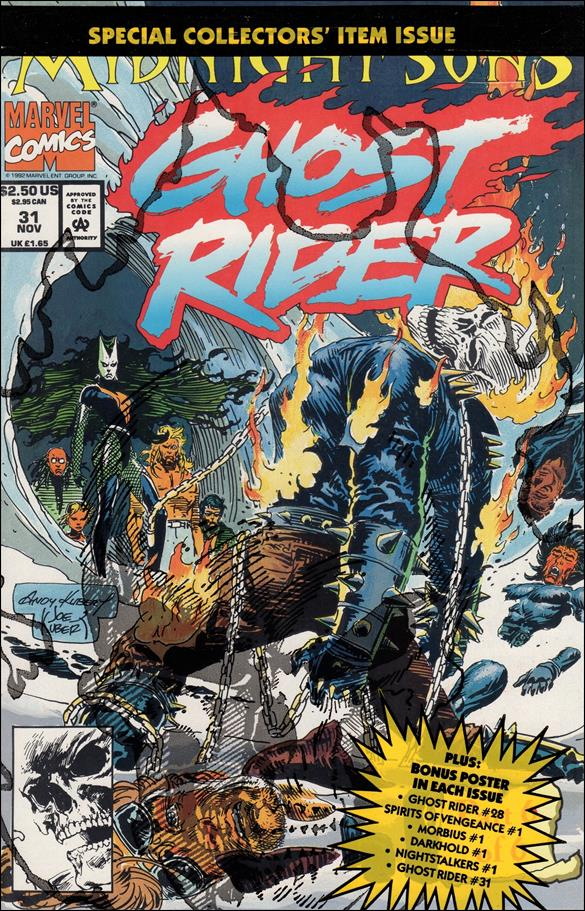 Ghost Rider (1990) 31-B by Marvel
