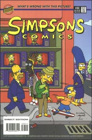 Simpsons Comics 33-A