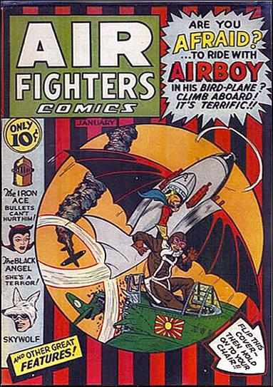 Air Fighters Comics (1941) 4-A by Hillman