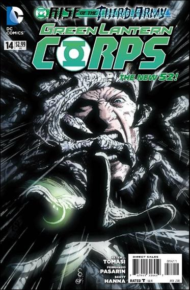 Green Lantern Corps (2011) 14-A by DC