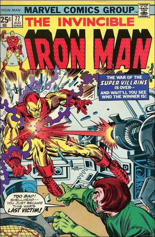 Iron Man (1968) 77-A by Marvel