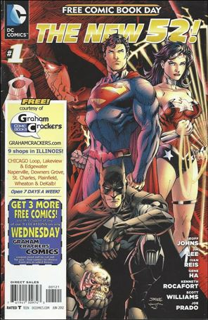 DC Comics - The New 52 FCBD Special Edition 1-L