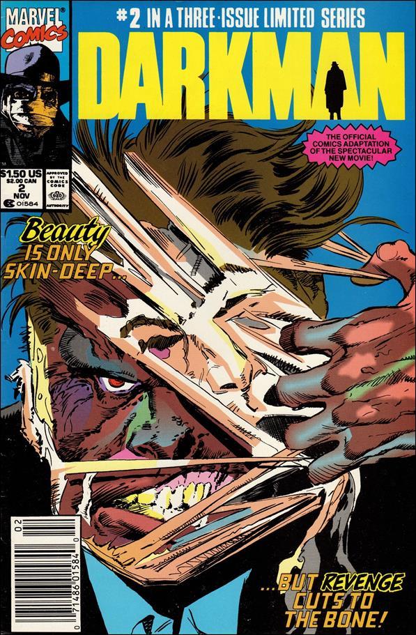 Darkman (1990/10) 2-A by Marvel