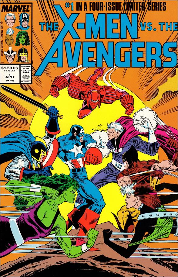 X-Men vs the Avengers 1-A by Marvel