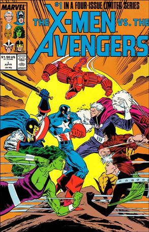 X-Men vs the Avengers 1-A