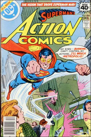 Action Comics (1938) 490-A by DC