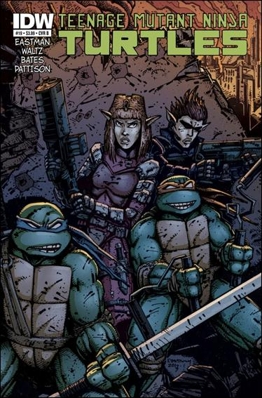 Teenage Mutant Ninja Turtles (2011) 19-B by IDW