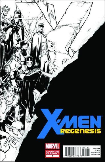 X-Men: Regenesis 1-C by Marvel