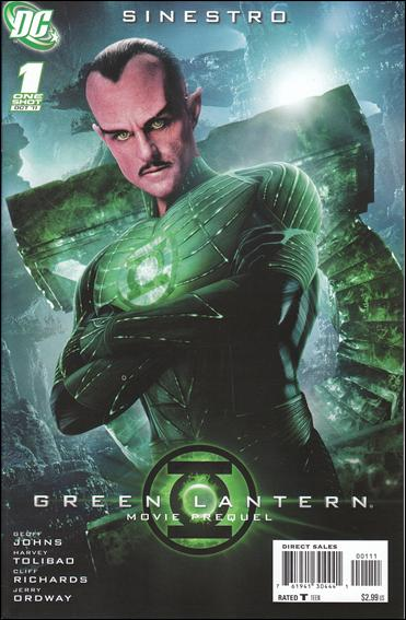 Green Lantern Movie Prequel: Sinestro 1-A by DC