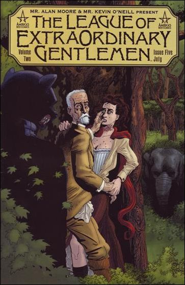 League of Extraordinary Gentlemen (2002) 5-A by America's Best Comics