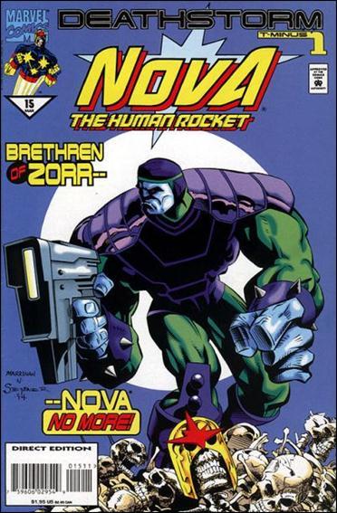 Nova (1994) 15-A by Marvel