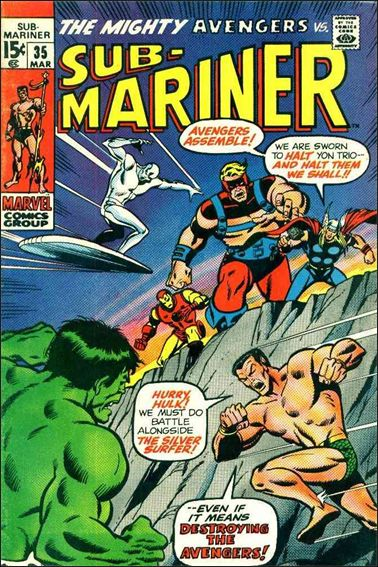 Sub-Mariner (1968) 35-A by Marvel