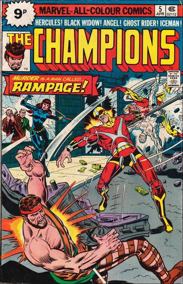 Champions (1975) 5-C by Marvel