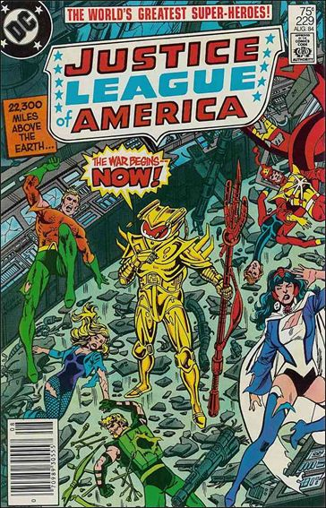 Justice League of America (1960) 229-A by DC