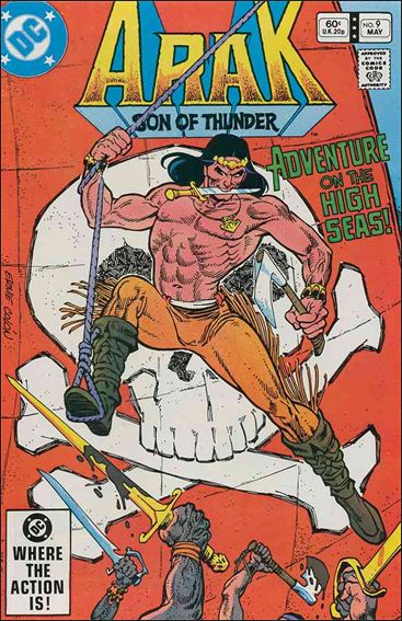 Arak Son of Thunder 9-A by DC