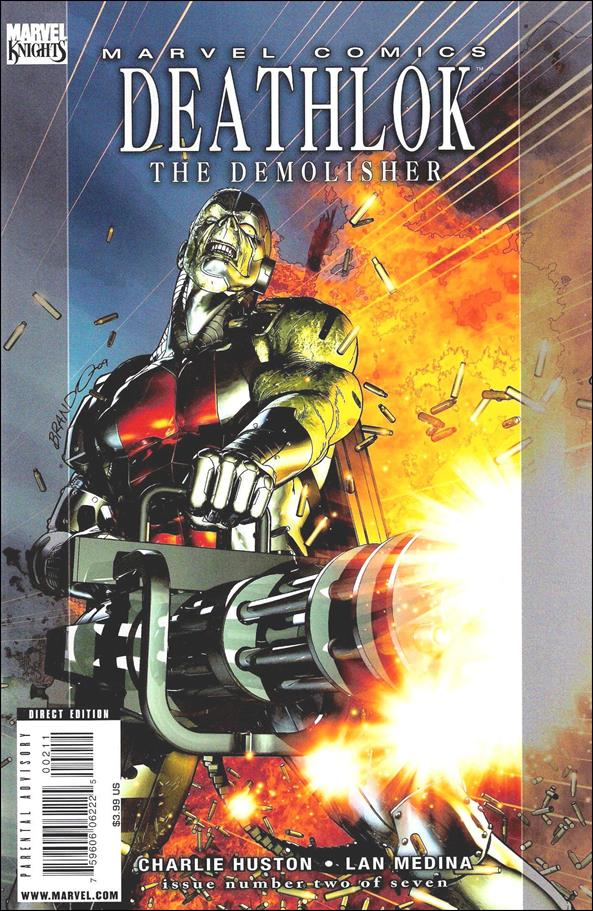 Deathlok (2010) 2-A by Marvel