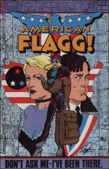 American Flagg! (1983) 13-A by First