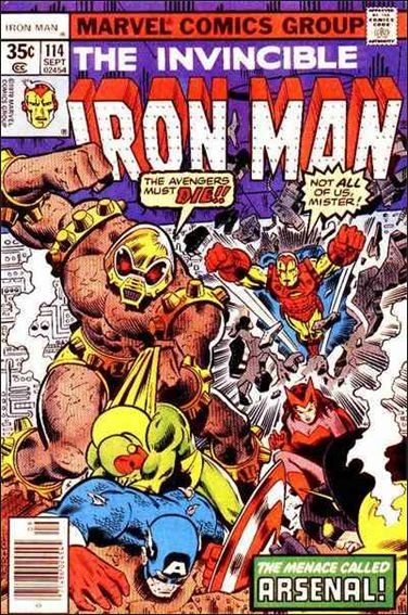 Iron Man (1968) 114-A by Marvel
