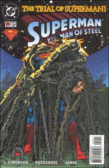 Superman: The Man of Steel 50-A by DC