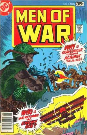 Men of War (1977) 8-A by DC