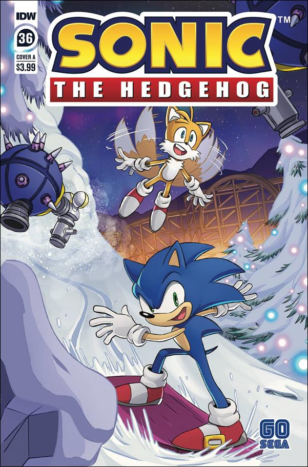 Sonic the Hedgehog (2018) 36-A by IDW