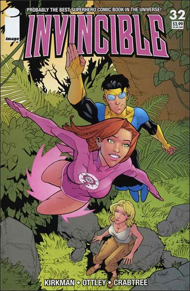 Invincible 32-A by Skybound Entertainment