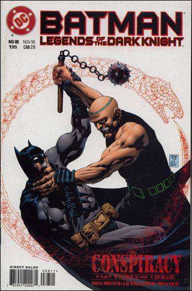 Batman: Legends of the Dark Knight 88-A by DC