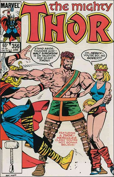 Thor (1966) 356-A by Marvel