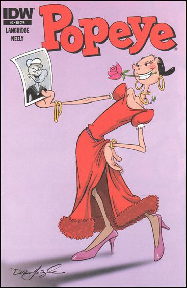 Popeye (2012) 3-B by IDW
