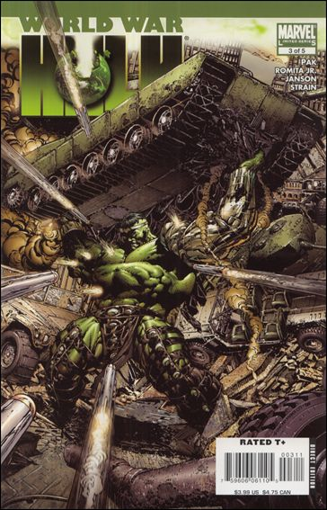 World War Hulk 3-A by Marvel