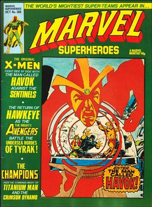 Marvel Superheroes (UK) 366-A