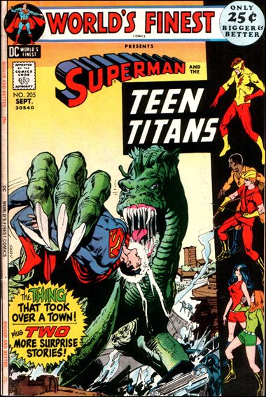 World's Finest Comics 205-A by DC