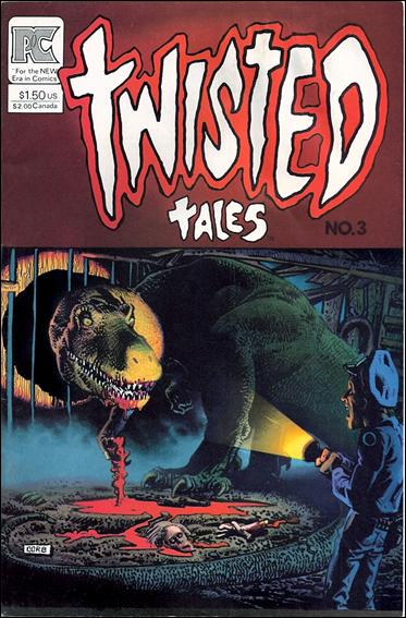 Twisted Tales (1982) 3-A by Pacific Comics