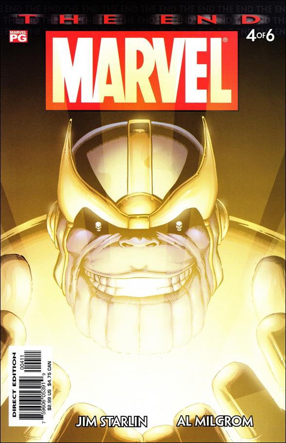 Marvel Universe: The End 4-A by Marvel