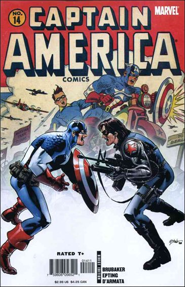 Captain America (2005) 14-A by Marvel