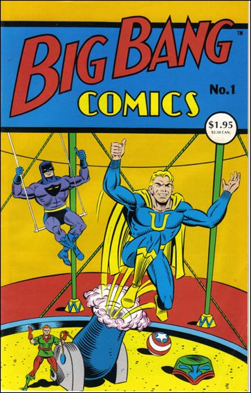 Big Bang Comics (1994) 1-A by Caliber
